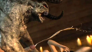 Creatures Attack Defenseless 3D Girls!