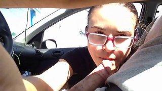 j'adore sucer mon homme pendant qu'il conduit :b #01