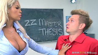 buxom professor bridgette b seducing her student