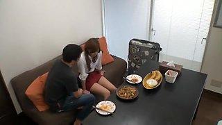 Amazing Japanese chick Mayuki Yusa, Yuuha Sakai, Yukari Ayasaki in Crazy Blowjob, Secretary JAV clip