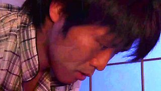 sleeping japanese mom