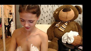 Perfect Pussy Gorgeous Latino Undressing Ep1 HighDef