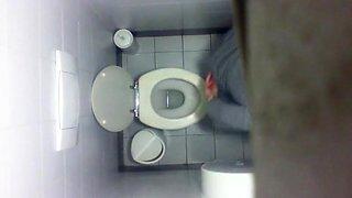 Real girls voyeur bathroom 6