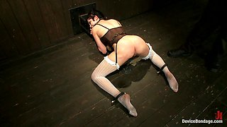 Asphyxia Noir in Never too hot to be used and abused  - DeviceBondage