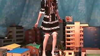 Japanese Maid Giantess