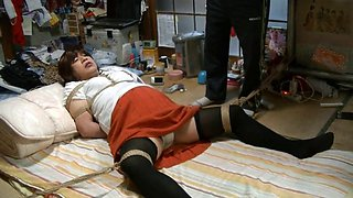 very Fujiko Ms and horny bondage teacher