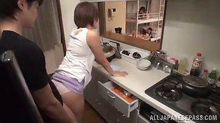 impassioned asian amateur giving a  delightful pov blowjob