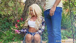 busty nikki cheats on her husband with their neighbor