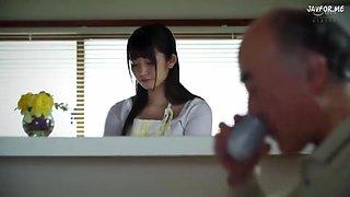 Young Wife with Old Father !!Yuri Asada!!