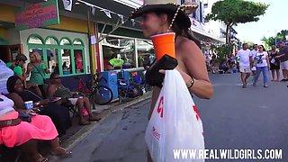 Fantasy fest street flashers uncensored 4