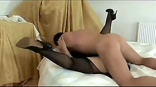 Super hot milf fucked like a pig