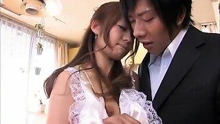 Crazy Japanese slut in Hottest Maid JAV clip
