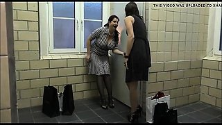 Two Amateur Milfs At A Gloryhole