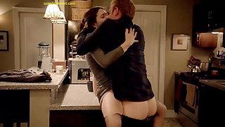 Emmy Rossum Sex On The Kitchen Counter In Shameless
