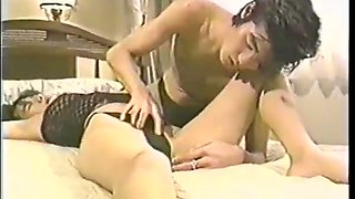 Japanese slut loved the way she got finger rubbed her pussy