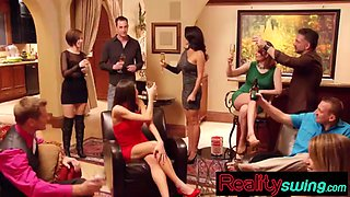 seduction is in the air at swingers lair