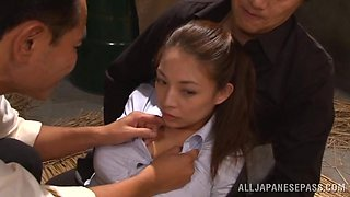 Japanese sex slave is being humiliated so hard