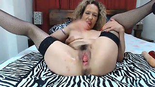 mature latina gape and fisting