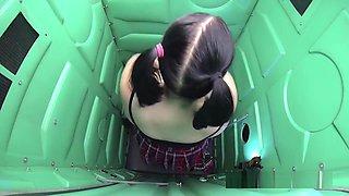 Bbw Swallowing Cum In Public Porta Potty Gloryhole