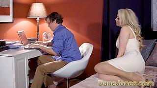 Dane Jones Big tits housewife in stockings and suspenders demands fucking