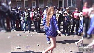 Vintage Mardi Gras Home Video With Some Flashing - SouthBeachCoeds