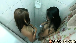 Filipina Laiza Brought Her friend Maya For Me To Fuck Them