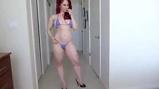 Hot MILF Redhead takes care of son