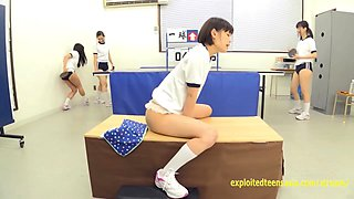 Jav Schoolgirls Suck And Fuck The Glory Hole Cute Teen Rides Whilst Herr Pals Play Table Tennis