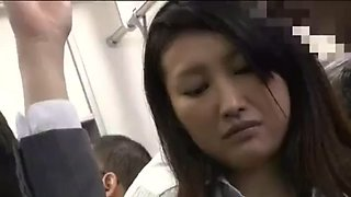 japan ol was embarrassed on the bus 1- watch part 2 on hdmilfcam.com