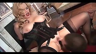 Mistress Dominates her Slave (Recolored)