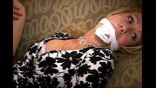 blonde mature bound fucked and blowjob