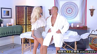 Brazzers - Dirty Masseur - The Cock Healer scene starring Olivia Fox and Sean Lawless