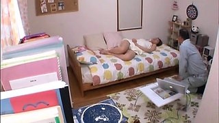 A Naked Japanese Housewife In A Bath Towel 2-2