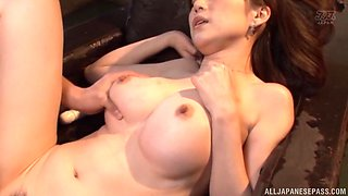 Sumire Mika seduced by a lover for a sexual adventure