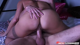brandi love rode his dong as his girlfriend was sleeping