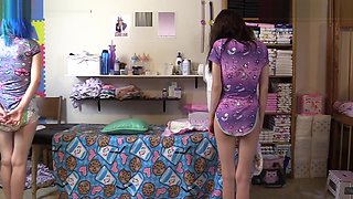 Diaper Girls Spanked By Mommy