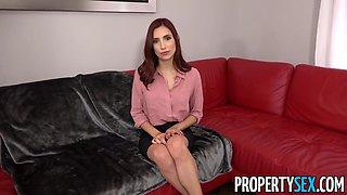 propertysex - real estate agent fucks her new boss