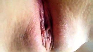 Wet Shaved College Asian Teen Fingering