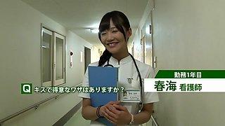 Crazy Japanese girl in Best Public, Nurse JAV scene