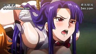 Hard-core cartoon porn action