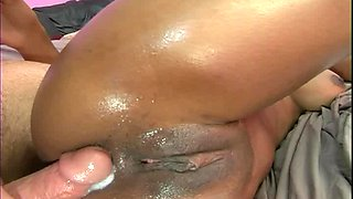 Erika Kane rides a massive love tool until she gets sprayed with jizz