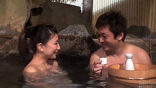 My Wife And Mr. Big Dick In A Japanese Onsen Spa