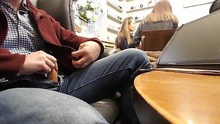 Fun at coffee shop