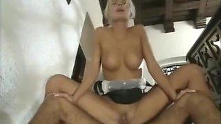 anita blonde hottest maid