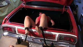 Bondage, pantyhose, nylons