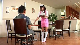 Exotic Japanese chick in Hottest POV, Maid JAV clip