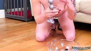 Chinese slave girl bondage and extreme bi Analmal Training