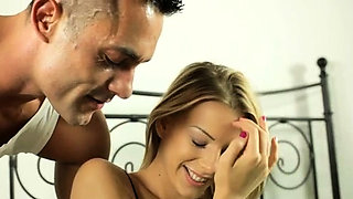 Nice defloration hardcore act with a sexy gal getting it on