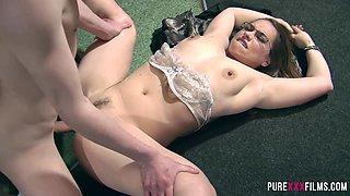 Olga Cabaeva & Sam Bourne in Russian maid fucks her customer - PureXXXFilms