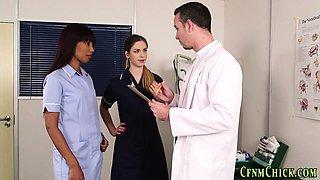 Cfnm domina nurse jerks